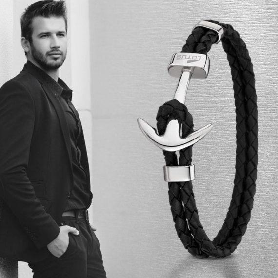Bracelet Homme marin Lotus
