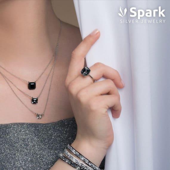 Collier et bagues Femme - Spark Jewelry