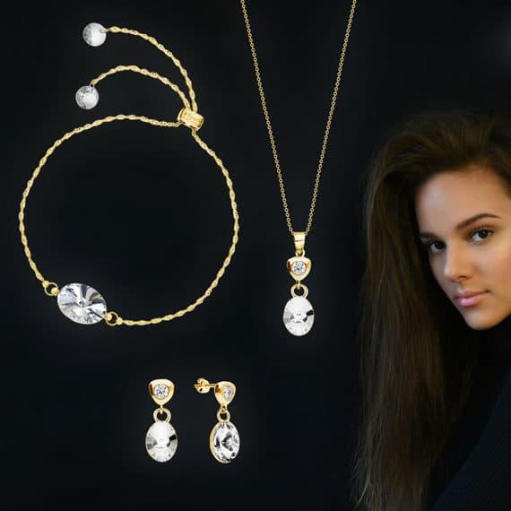 Pendentifs, bracelets et boucles d'oreilles Spark Jewelry