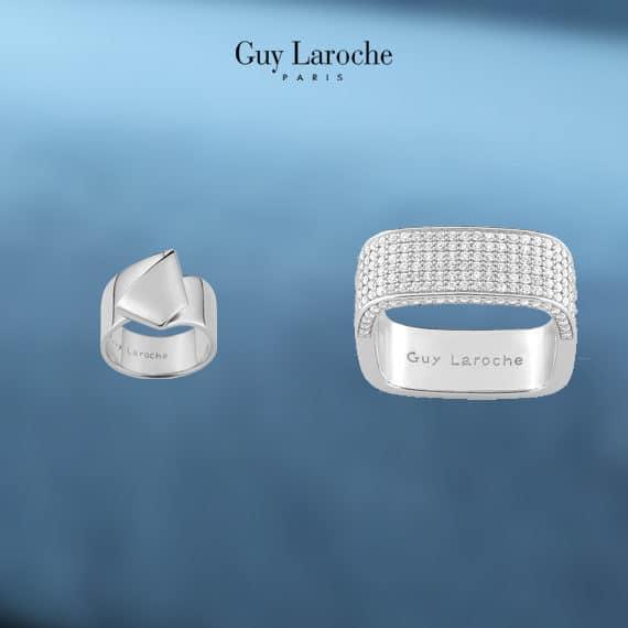 Bague femme et bracelet Guy Laroche Diamant