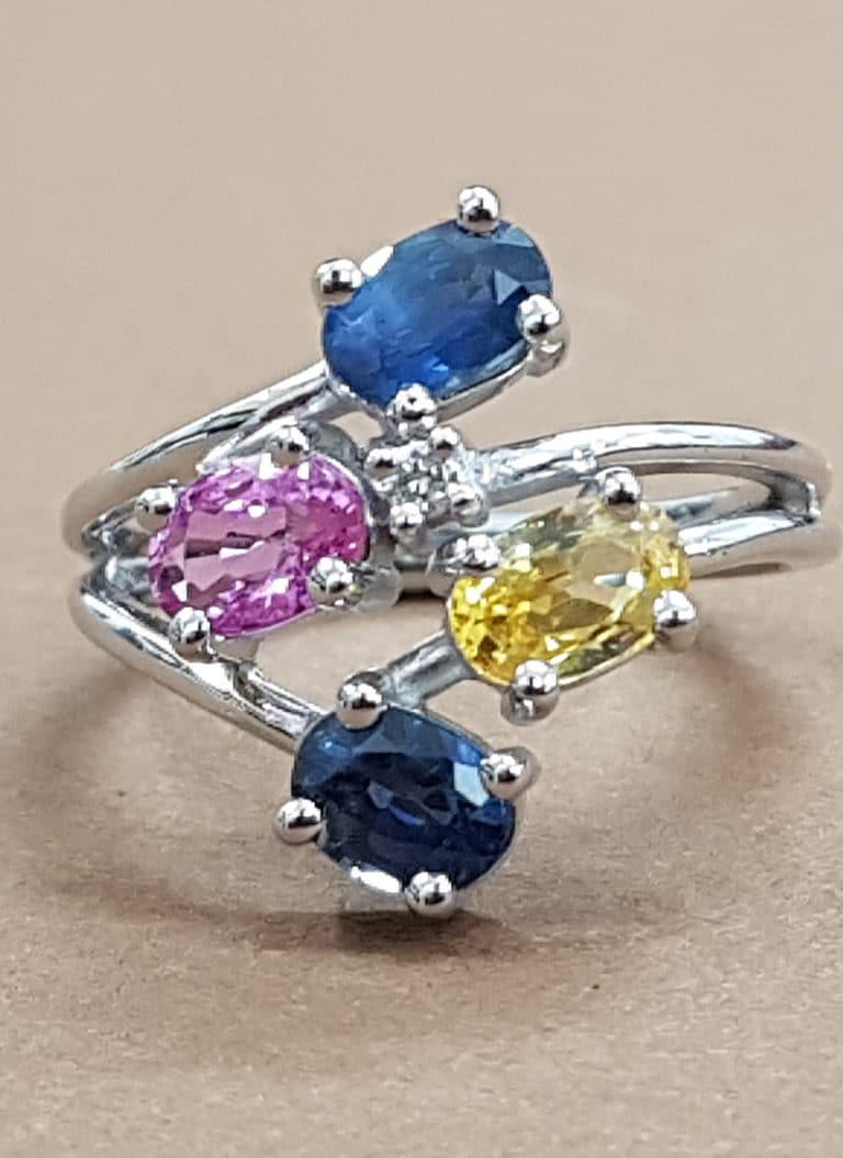 Bague diamant personnalisée